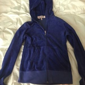 Blue Juicy couture jacket.